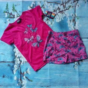 West Coast Connection Girl Size 6 Pajamas …